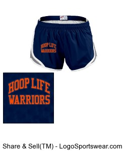 Juniors Team Shorty Shorts by MJ Soffe Design Zoom